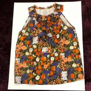 Like new J Crew Floral Blouse Sz Small